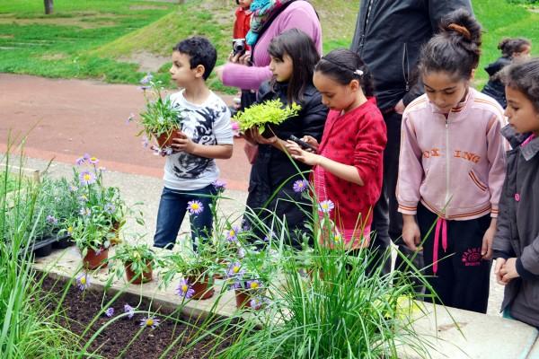 Gestion durable des espaces verts d'habitat social